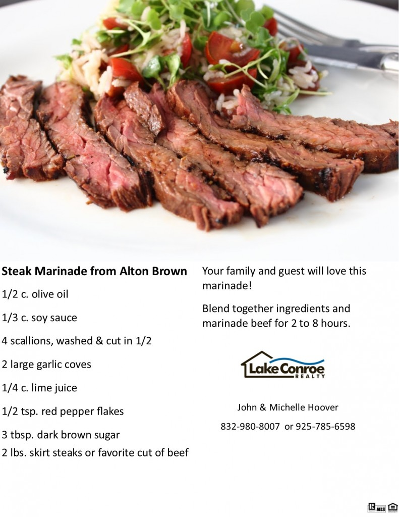 Steak Marinade for FB